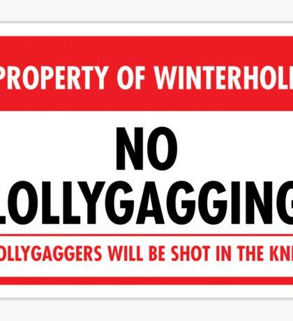Winterhold Municipal Ordinance (Sticker) Sticker