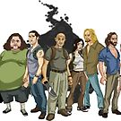 LOST: The Animated Series by drawsgood