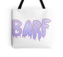 Barf BLUE Tote Bag