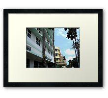 Miami Beach Framed Print