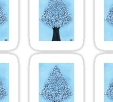 Snow Tree Mini Stickers Sticker