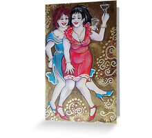 party girls Greeting Card