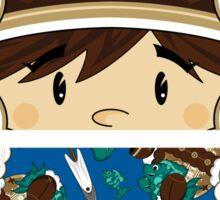 Cute Little Inuit Sticker