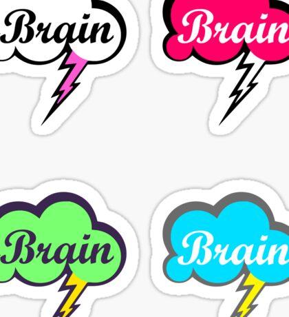 Colourful Brain Storm's Sticker