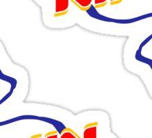 Burpping King Sticker