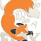 Crazy Like a Fox Sticker by Zhivago