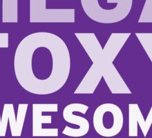SuperMegaFoxyAwesomeHot - Sticker Sticker
