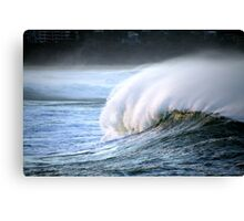 wowee wave Canvas Print