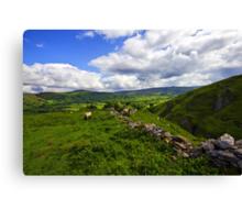 The Peak District, Derbyshire. Canvas Print