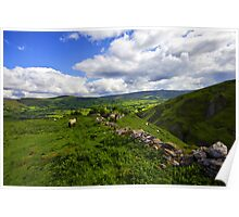 The Peak District, Derbyshire. Poster