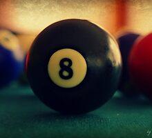 8 - bola negra by Lorena María