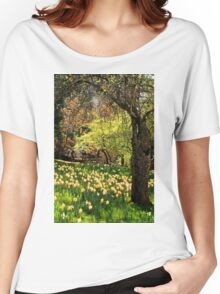 A Spring Stroll Women's Relaxed Fit T-Shirt