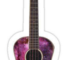 Galaxy Ukulele Sticker