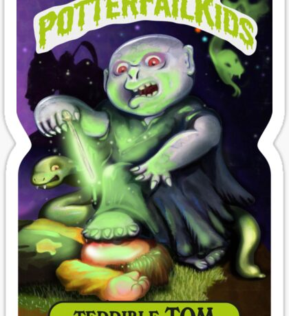Potter Fail Kids - Terrible Tom - COLOR! Sticker