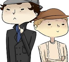 Sherlock and John Hats by pilts