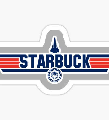 Galactica's Top Gun Sticker