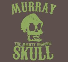 Murray the mighty demonic skull by Faniseto