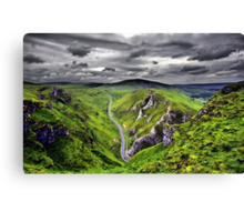 Winnats Pass Derbyshire Canvas Print