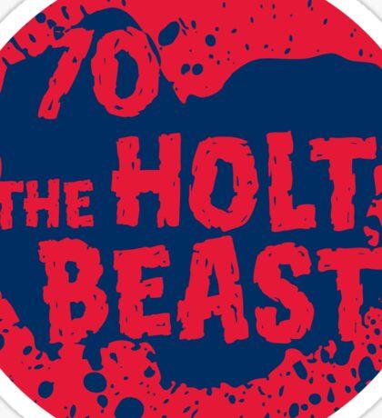 HoltBeast Sticker