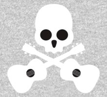 Old Skull Music Guitar One Piece - Long Sleeve