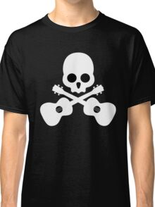 Old Skull Music Guitar Classic T-Shirt