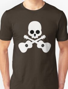 Old Skull Music Guitar T-Shirt