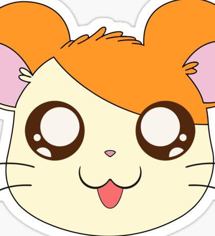 Hamtaro's Head Sticker