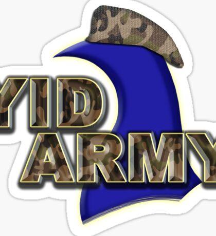 The Yid Army - Tottenham's Faithful Fans Sticker