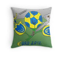 Infos Options Binaires en BD le tournoi Euro 2012 Throw Pillow