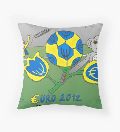 Infos Options Binaires en BD le tournoi Euro 2012 Throw Pillow