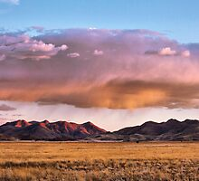 Storm Clouds Blush Towards Sunset by Jill Fisher