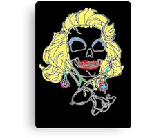 Marilyn Muerte Canvas Print