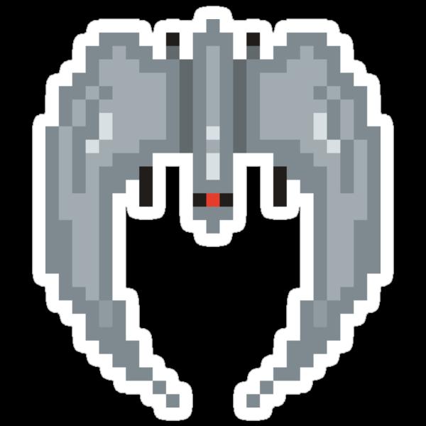 8-bit Raider by drawsgood