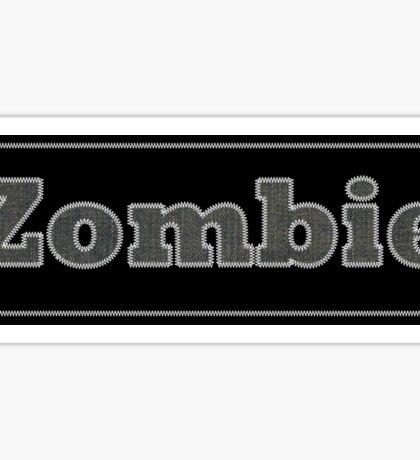 Zombie sticker Sticker