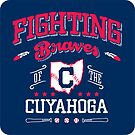 Fighting Braves of the Cuyahoga - Sticker by WeBleedOhio