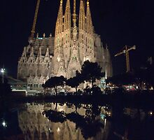 Sagrada Familia by Martyn Coupland