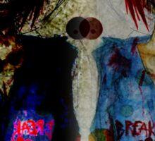 destroy : despair Sticker