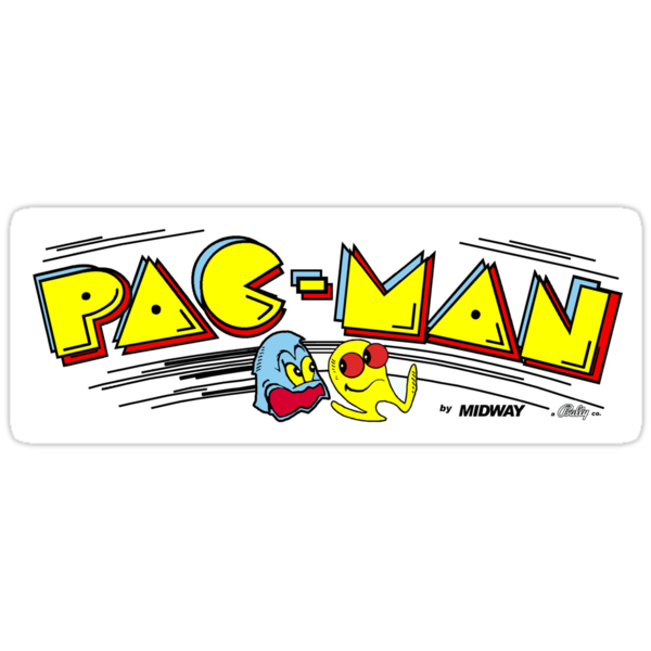 Pac-Man Marquee by vidyagames