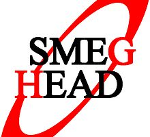 Smeg Head (black font) by dalleck
