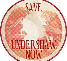 Save Undershaw Now (Sticker 2) by KitsuneDesigns