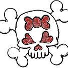 Girly Skull by sensameleon