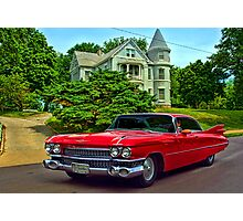 1959 Cadillac Low Rider Photographic Print