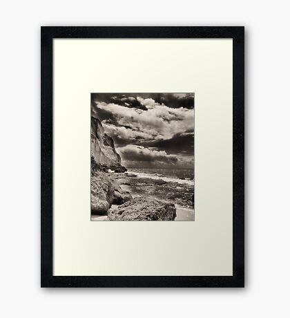 Beach in Portugal Framed Print