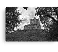 Conisbrough Castle Canvas Print