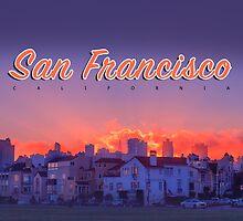 San Francisco: Good Morning: Art by Evan Weiss