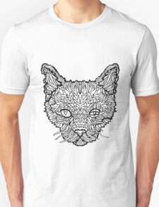 Alley Cat - Complicated Coloring T-Shirt
