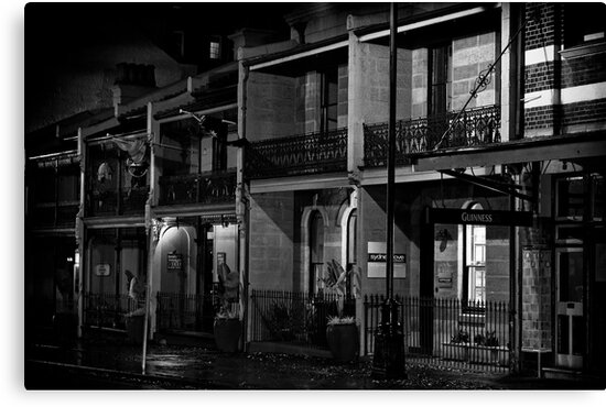 Ye Olde Sydney by Malcolm Katon