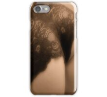 Racey lacey iPhone Case/Skin