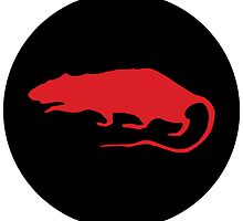 red rat roundel by spackletoe