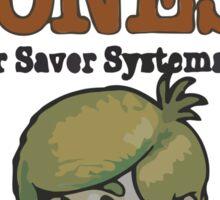 Rusty Jones Rust Prevention LoFi Square Sticker Print Sticker